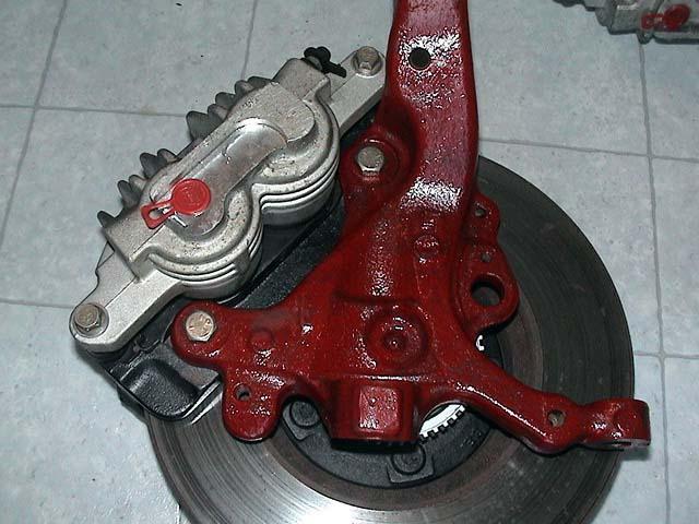 Thunderbird Brake Upgrade