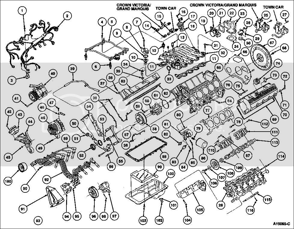 4 6l Engine Exploded View 2of3 Photo By Dickbragg Manual Guide