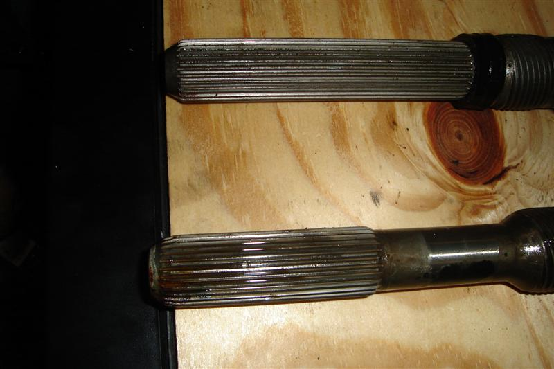 AOD shafts with 4R70W internals - TCCoA Forums