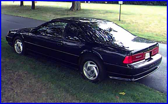 1990 Ford Thunderbird Black