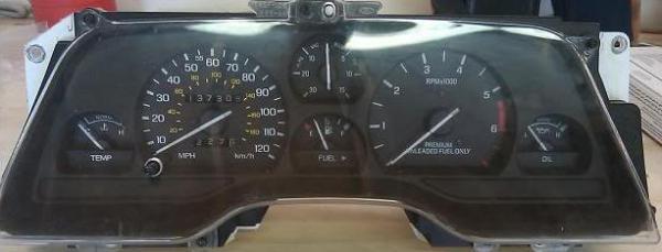 The Speedometer/Cluster Thread - TCCoA Forums